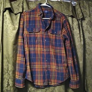 George Multicolored Plaid S buttoned down shirt